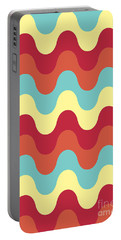 Melting Colors Pattern Portable Battery Charger