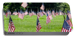 Portable Battery Charger featuring the photograph Memorial Day by Ed Weidman