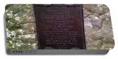 Memorial Tablet To Signal Corps U.s.a. Portable Battery Charger