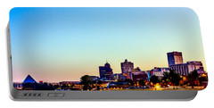 Memphis Morning - Bluff City - Tennessee Portable Battery Charger