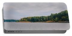 Men Fishing On Barren River Lake Portable Battery Charger