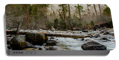 Merced River From Happy Isles 2 Portable Battery Charger