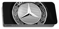 Mercedes-benz 6.3 Gullwing Emblem Portable Battery Charger by Jill Reger