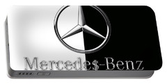 Mercedes-benz Logo Portable Battery Charger