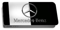 Mercedes-benz Logo Portable Battery Charger