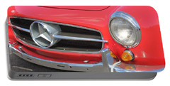 Portable Battery Charger featuring the photograph Mercedes Benz Vintage by The Art of Alice Terrill