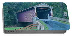 Mercer's Mill Covered Bridge Portable Battery Charger