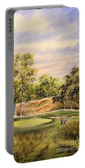 Merion Golf Club Portable Battery Charger by Bill Holkham