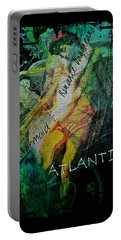 Mermaid Love Spell Portable Battery Charger by Absinthe Art By Michelle LeAnn Scott