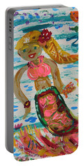 Mermaid Mermaid Portable Battery Charger by Mary Carol Williams