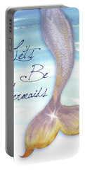 Mermaid Tail II Portable Battery Charger