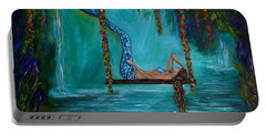 Mermaids Tranquility Portable Battery Charger