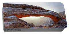 Mesa Arch Looking North Portable Battery Charger