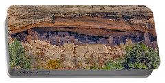 Mesa Verde Cliff Dwelling Portable Battery Charger by Paul Freidlund
