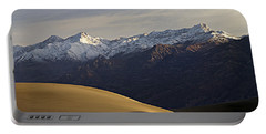 Mesquite Dunes And Grapevine Range Portable Battery Charger by Joe Schofield