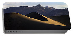 Portable Battery Charger featuring the photograph Mesquite Dunes At Dawn by Joe Schofield
