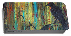 Portable Battery Charger featuring the painting Messenger by Jacqueline McReynolds