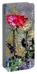 Metalic Rose Portable Battery Charger