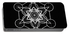 Metatron Wheel Cube Portable Battery Charger