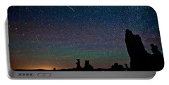Meteors Over Mono Lake Portable Battery Charger