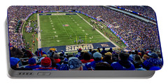 Portable Battery Charger featuring the photograph Metlife Stadium by Gary Keesler
