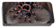 Mexican Redknee Tarantula Portable Battery Charger