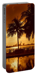 Miami South Beach Romance II Portable Battery Charger