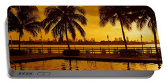 Miami South Beach Romance Portable Battery Charger