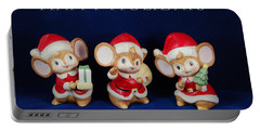 Mice Holiday Portable Battery Charger