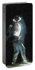 Michael Jackson Portable Battery Charger by Georgi Dimitrov