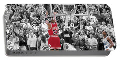 Michael Jordan Buzzer Beater Portable Battery Charger
