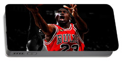 Michael Jordan Soft Touch Portable Battery Charger