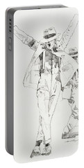 Michael Smooth Criminal Portable Battery Charger