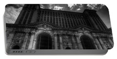 Michigan Central Station Highrise Portable Battery Charger