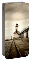 Michigan City Lighthouse Portable Battery Charger