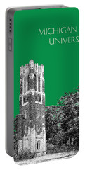 Michigan State University - Forest Green Portable Battery Charger