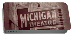 Michigan Theatre Portable Battery Charger