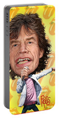 Mick Jagger Portable Battery Charger