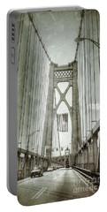 Mid Hudson Suspension Bridge Portable Battery Charger