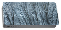 Portable Battery Charger featuring the photograph Mid-winter Storm by Jonathan Nguyen