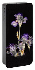 Midnight Iris Portable Battery Charger