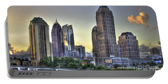 Midtown Atlanta Sunrise Portable Battery Charger