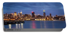 Portable Battery Charger featuring the photograph Midtown Manhattan by Mihai Andritoiu