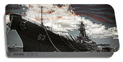 Mighty Mo U.s.s. Missouri Portable Battery Charger
