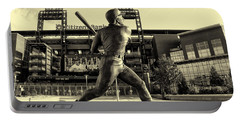 Mike Schmidt At Bat Portable Battery Charger