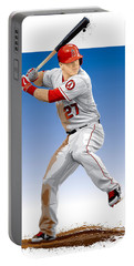 Mike Trout Portable Battery Charger by Scott Weigner