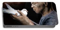 Mike Tyson And Pigeon II Portable Battery Charger