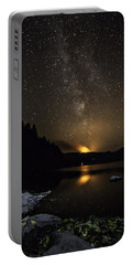 Milky Way At Crafnant Portable Battery Charger
