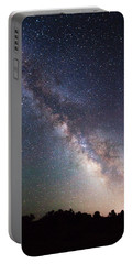 Milky Way On The Rocks Portable Battery Charger