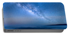 Milky Way Suspended Above Mauna Loa 1 Portable Battery Charger